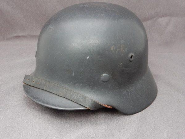 M40 German Single Decal Overpainted Luftwaffe Helmet