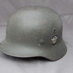 M 40 Double Decal Police Helmet