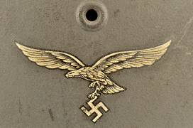 M 40 Single Decal Luftwaffe Helmet