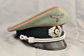 IDed Artillery Officers Visor Hat by Pekuro