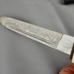 Panzer Etched Dress Bayonet by F.W. Holler