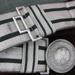 Heer Officers Dress Belt and Buckle