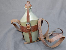 Early 1898 Japanese Canteen with Oxalic acid anodized finish