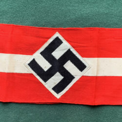 Hitler Youth Armband with rzm tag