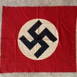 Podium Banner NSDAP with fringed bottom