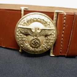 NSDAP Political Leaders Belt and buckle