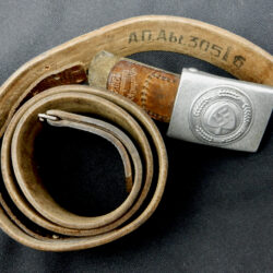 RAD Unit Marked Belt and Buckle